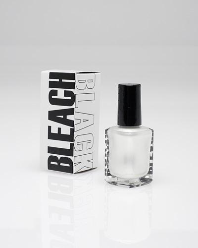 Black Nail Polish What Does It Mean: Bleach Black Nail Paint