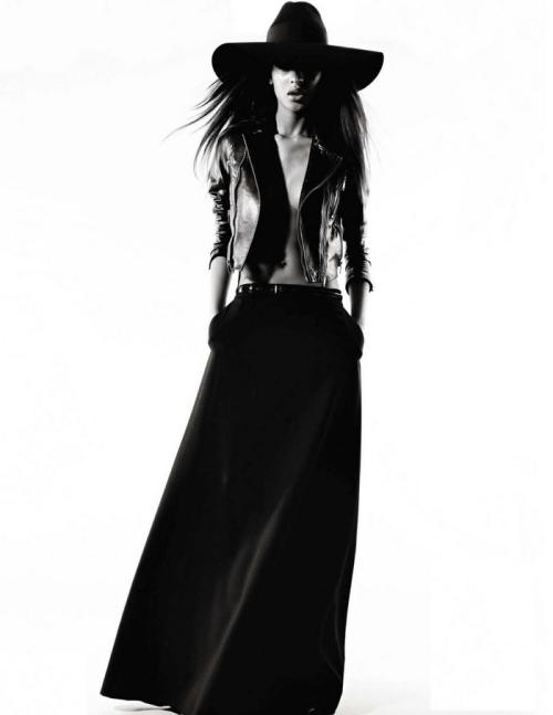 Studded Hearts: Jourdan Dunn for Vogue Spain